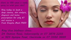 Want to see what is really going on in your skin?  Today's offer 7 September 2012