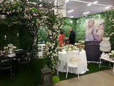 One of the most #beautiful stand that participated at the #wedding #fair in #Montecarlo