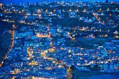 ECUADOR |||||||||| QUITO - Blue hour, Quito, Ecuador
