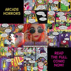 Arcade Horrors Comic Round-Up   To find out more about Australian geek pop singer songwriter Meri Amber and her wonderful world of nerdy and geeky pop culture goodness go to: meriamber.com