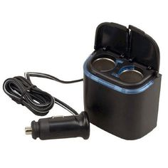 Plug In Car 1 TO 2 Lighter Multiplier