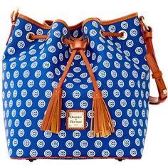 Chicago Cubs Dooney Bourke Kendall Crossbody (10,580 DOP) ❤ liked on Polyvore featuring bags, handbags, shoulder bags, crossbody shoulder bags, blue crossbody, zip shoulder bag, blue crossbody purse and blue shoulder bag