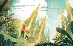 Wazza Pink on Behance - Modern Autumn Illustration, Children's Book Illustration, Digital Illustration, Matte Painting, Storyboard, Kindergarten Drawing, Layout, Children's Picture Books, Book Projects