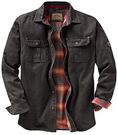 See Legendary Whitetails Mens Journeyman Rugged Shirt Jacket, . Flannel lined and rugged cotton suede look. Hooded Flannel, Jacket Images, Estilo Rock, Shirt Jacket, Flannel Jacket, Mens Flannel Shirt, Camo Shirts, Jacket Men, Military Jacket