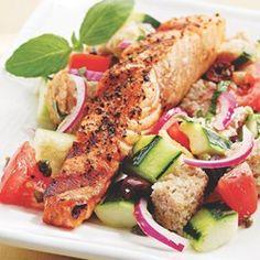 Salmon Panzanella - EatingWell.com