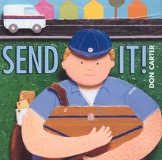 Simple text and illustrations describe a package as it makes its way across country, from the time it is wrapped and addressed until it is delivered and opened. (Grades: Prek-2) Call number: PZ7.C2432 Se 2003