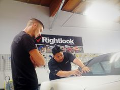 Window tinting is a thriving industry and qualified technicians are always in high demand! Learn the skills you need to become a qualified window tinting technician at the Rightlook Automotive Training Center.