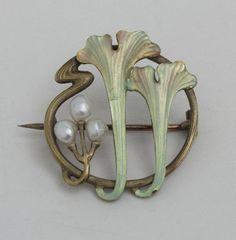 Vintage Jewelry Art Art Nouveau Brooch More - Bijoux Art Nouveau, Art Nouveau Jewelry, Jewelry Art, Vintage Jewelry, Jewlery, Belle Epoque, Objets Antiques, Lalique Jewelry, Jugendstil Design