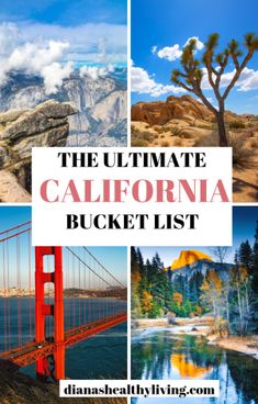 The ultimate list of things to do in California. From San Francisco to La Jolla and everywhere in between. The top beautiful places to visit in California to add to your California bucket list. California Travel Guide, Usa Travel Guide, Visit California, Travel Usa, Travel Guides, Travel Tips, California Vacation, Travel Info, Free Travel