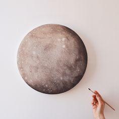 Ganymede, a moon of Jupiter | Stella Maria Baer
