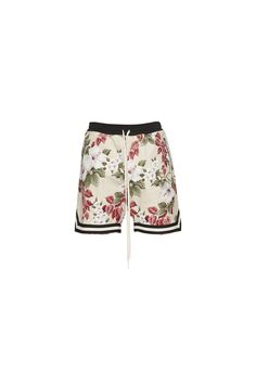 FEAR OF GOD - FLORAL DROP CROTCH SHORT