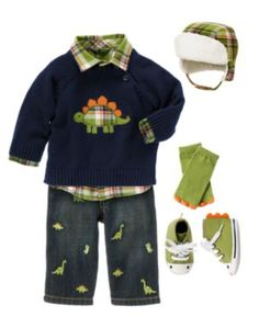 Gymboree ... For cute boys clothes. Dinosaur Infant.