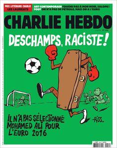 Charlie Hebdo - # 1246 - 8 Juin 2016 - Couverture : Riss
