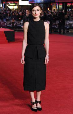 Keira Knightley wearing Proenza Schouler - 'Jack Ryan: Shadow Recruit' #London Premiere #2014