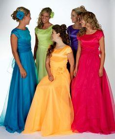 Vestidos de Promoción Modestos, Lindos Vestidos!!
