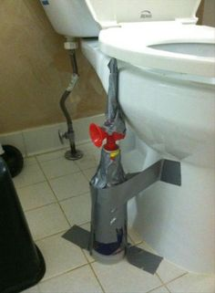 now HERE'S and April Fools Prank worth getting on the floor next to a toilet!!