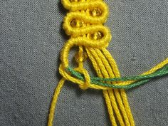 Mimosa macrame picture tute