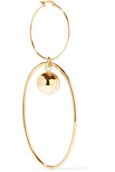 Stella McCartney | Gold-plated earrings | NET-A-PORTER.COM