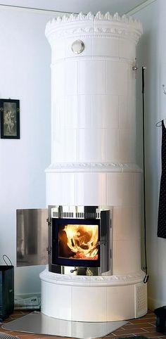 Small Fireplace, Wood Burner, Elegant Homes, Stove, House Plans, Villa, Home Appliances, Living Room, Decorating Ideas