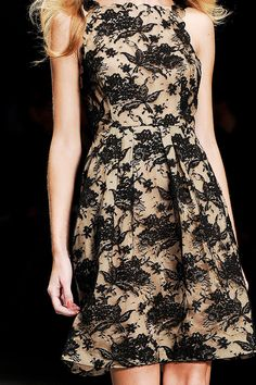 Lace Dress in Issa Spring 2012