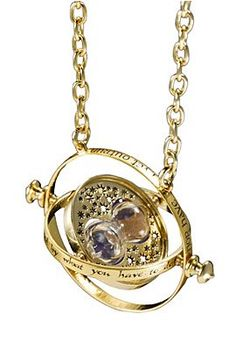 Hermione's Time Turner Necklace. One of my friends does indeed have this... lol