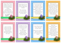Print off these adorable easter basket scavenger hunt cards for an easy and fun activity! Send the kids off on an exciting Easter scavenger hunt! Easter Games, Easter Activities, Easter Egg Hunt Clues, Easter Eggs, Easter Food, Hoppy Easter, Easter Scavenger Hunt, Scavenger Hunts, Easter Printables