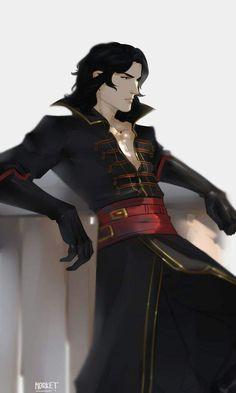 by Fyodor Basmanov Character Creation, My Character, Character Concept, Concept Art, Fantasy Inspiration, Character Design Inspiration, Dnd Characters, Fantasy Characters, Castlevania Dracula