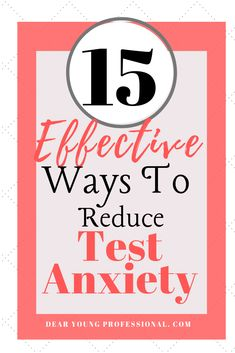 of Students report some kind of Test Anxiety. Here are 15 Effective and Natural Ways To reduce your Test Anxiety. College Dorm Essentials, College Life Hacks, College Checklist, College Tips, School Hacks, Test Anxiety, Stress And Anxiety, Anxiety Help, Social Anxiety