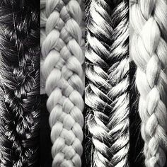 braids-101-From fishtails and waterfalls to dutch braids and milkmaids, there are a slew of different braid styles out there
