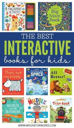 Some of the best books for kids are interactive books. They entertain young readers who can't yet sit through an entire book, and they involve children in the story they're telling. These Usborne books are some of the best interactive books for kids!