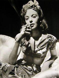 Ida Lupino  #vintage #tiki #hawaii