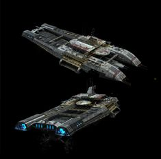 Updating some of my BSG_Blood and Chrome assets for an updated demo reel. Bsg Game, Nave Star Wars, Capital Ship, Ship Of The Line, Spaceship Design, Battlestar Galactica, Blood, Chrome, Ships