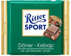 RITTER SPORT Fake Schokolade Döner Kebap
