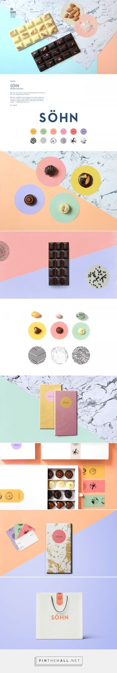 Söhn Chocolate Branding and Packaging by Gladys Creative Studio | Fivestar Branding Agency – Design and Branding Agency & Curated Inspiration Gallery