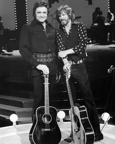 Johnny Cash and Kris Kristofferson it don't get much better than that!!!