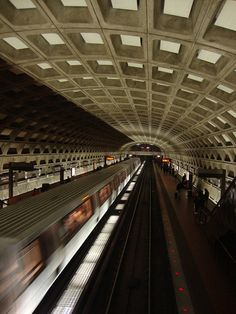 Apparently the best way to get around the city and beyond in DC. I know I loved every second on the Metro! #DC #Metro