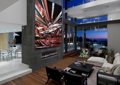 The process creates a cohesive art experience between the artist and the client.