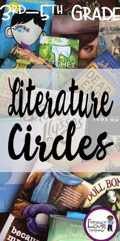 3rd - 5th Grade Teachers ~ Literature Circles are a great way to support and meet the Common Core Standards for Speech and Language! $ - Literacy Loves Company