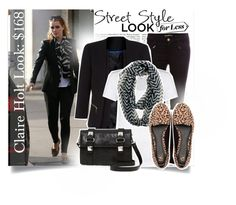 """Claire Holt Look for Less."" by withlove23x ❤ liked on Polyvore"