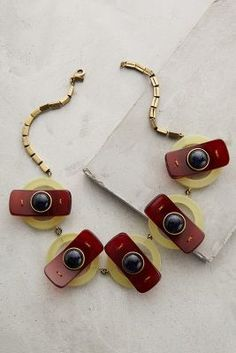 Orly Genger by Jaclyn Mayer Seneca Bib Necklace #anthrofave #anthropologie