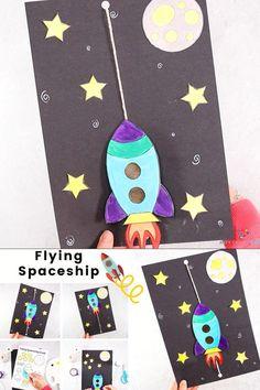 Flying Spaceship Craft