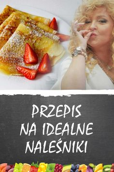 Polish Desserts, Polish Recipes, Good Food, Yummy Food, Tasty, Crepe Recipes, Dessert Recipes, Pavlova, Food Design