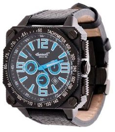 Ingersoll Men's IN3204BKB Bison Number 20 Automatic Square Dial Watch Ingersoll. $421.75. Luxurious Bison Watch Case. Water Resistant 5 ATM. Fine Automatic Timepiece. open balance wheel. Square Watch