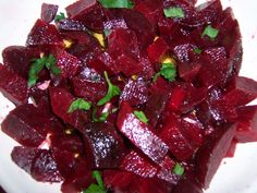 RECIPES FROM SICILY: Beet salad...it's delicious, really =)