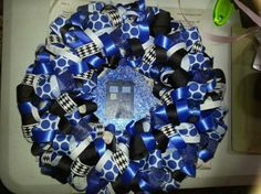 Dr. Who Wreath