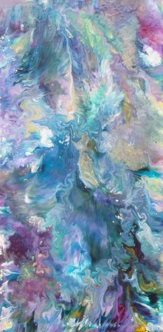 Ocean Oasis captures the essence of the sea with free flowing acrylics splashing across the canvas. This abstract fluid painting is an expression of waves with coral reef features. https://alexandraromanoart.com/collections/abstract-expressionism/products/ocean-oasis-original-abstract-expressionism-acrylic-painting-30-h-x-15-w-x-1-5-in-canvas #abstractexpressionism #oceanart #abstractart #modernart #contemporaryart #homedecor #interiordesign #coolcolors #acrylicpainting #style #original
