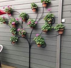 70 Ideas for indoor patio design planters Small Flower Gardens, Small Flowers, Flowers Garden, Planters Flowers, Garden Planters, Spring Flowers, Diy Patio, Backyard Patio, Patio Design