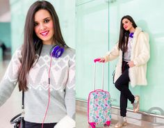 Beats By Dre Headphones, Neon Boots Boots, Romwe Sweater