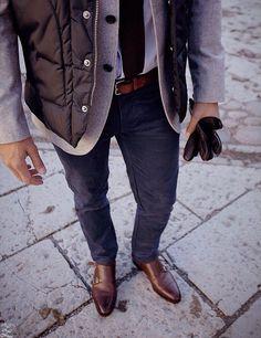 Layers. Menswear.