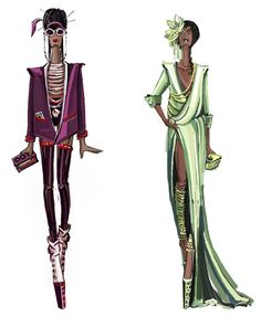 voodoo_man_and_tiana_by_sashii_kami-d4w6dvu